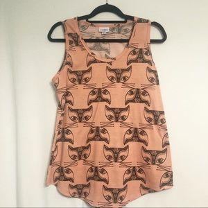 LuLaRoe tank! Cat lovers this is for you!